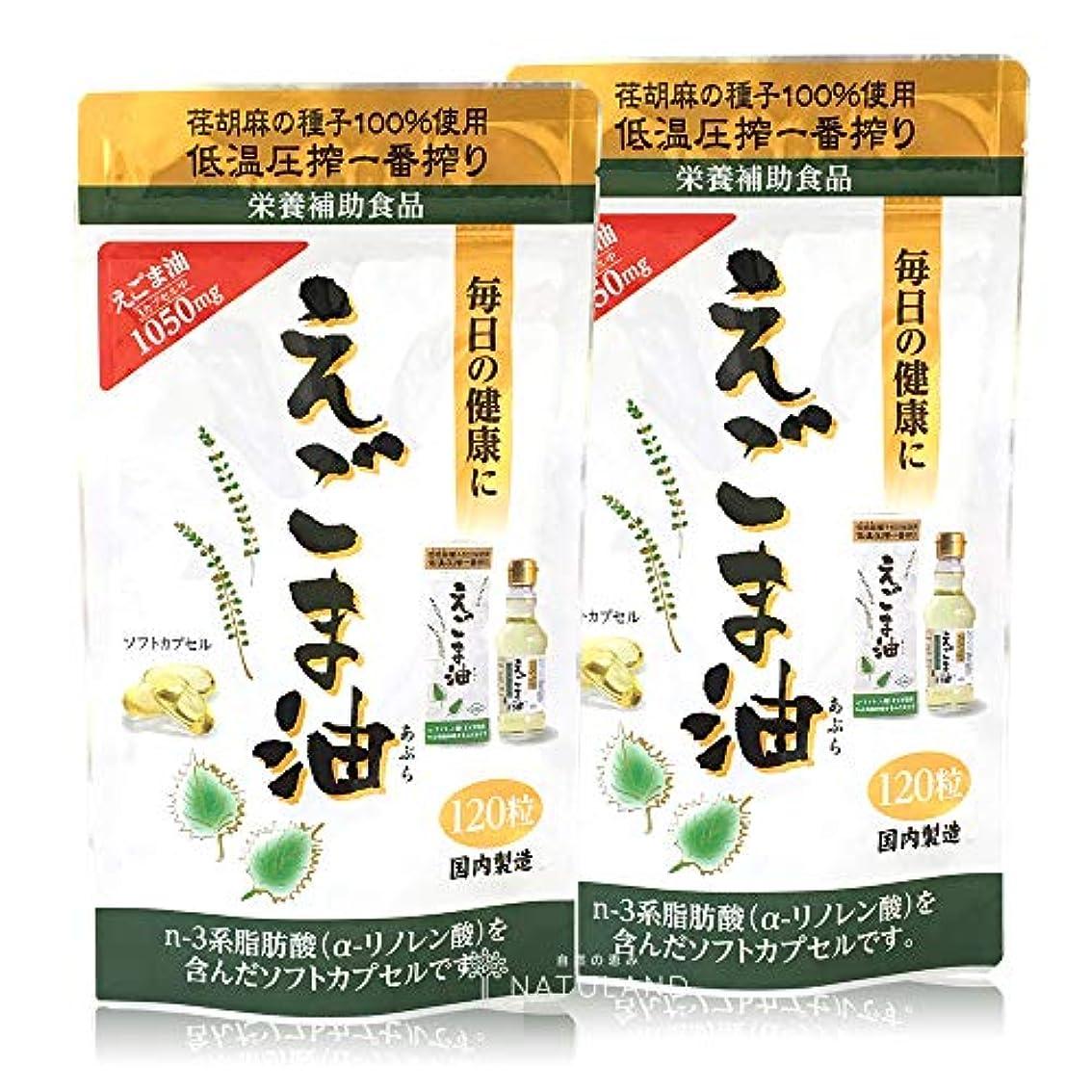 熟考するテナント不完全な朝日えごま油カプセル 120粒 2袋セット(通販限定)