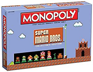 [USAopoly]USAopoly Monopoly: Super Mario Bros Collector's Edition Board Game MN005-435 [並行輸入品]