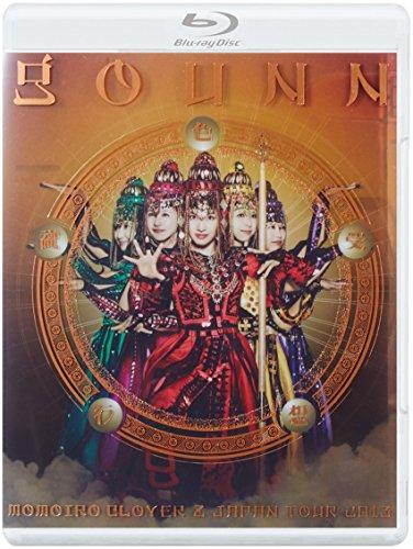 ももいろクローバーZ JAPAN TOUR 2013「GOUNN」LIVE Blu-rayの詳細を見る
