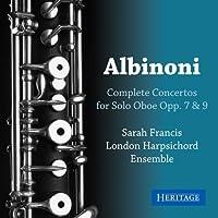 Albinoni: Oboe Concertos Opp 7