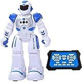Yokkao 電動ロボット ロボットラジコン インテリジェン玩具ん 人型ロボット USB充電 歩く・歌を歌う・踊りを踊る・手振り・ABS英語 プログラム可能 リモートコントロール ラジコンロボット 多機能
