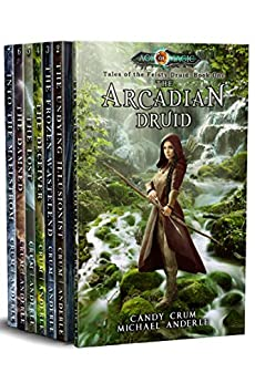 Tales of the Feisty Druid Omnibus (Books 1-7): (The Arcadian Druid, The Undying Illusionist, The Frozen Wasteland, The Deceiver, The Lost, The Damned, Into The Maelstrom) by [Crum, Candy, Anderle, Michael]