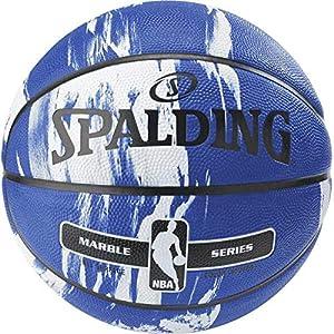 バスケットボール 7号球 屋外用 マーブルコレクション ブルー NBA公認 ブルー バスケ バスケット 83-633Z