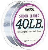 モーリス(MORRIS) ショックリーダー バリバス ナイロン 50m 12号 40lb ミストグレー
