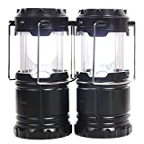 UnigearソーラーLEDランタン 懐中電灯 キャンプライト 防災夜間照明 充電ケーブル付