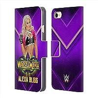 WWE ダブルダブルイー - Alexa Bliss レザー手帳型/iPhoneケース 【公式/オフィシャル】