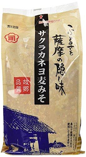 吉村醸造サクラカネヨ 麦味噌 1kg