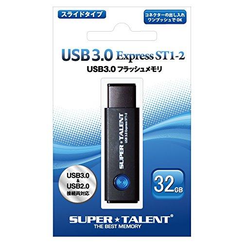 USB3.0フラッシュメモリ 32GB ワンプッシュスライド ST3U32ES12 1個