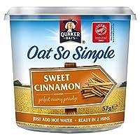 クエーカー急行ポット甘いシナモン57グラム - Quaker Express Pot Sweet Cinnamon 57g [並行輸入品]