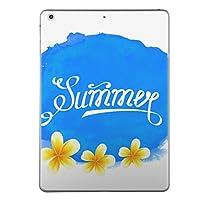 第1世代 iPad Pro 12.9 inch インチ 共通 スキンシール apple アップル アイパッド プロ A1584 A1652 タブレット tablet シール ステッカー ケース 保護シール 背面 人気 単品 おしゃれ 夏 フラワー 花 013938