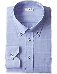 (アトリエサンロクゴ) atelier365 長袖 ワイシャツ ボタンダウン グレンチェック メンズシャツ yscm-bd-glen