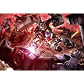 1000ピース ジグソーパズル 機動戦士ガンダム 黒い三連星との激戦(49x72cm)