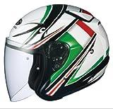 オージーケーカブト(OGK KABUTO)バイクヘルメット ジェット AVAND2 FLAG (フラッグ) イタリア (サイズ:L)