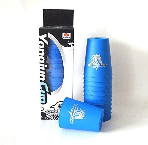 スポーツスタッキング専用 -Flying Cup- カップ12個セット (ブルー)[並行輸入品]...