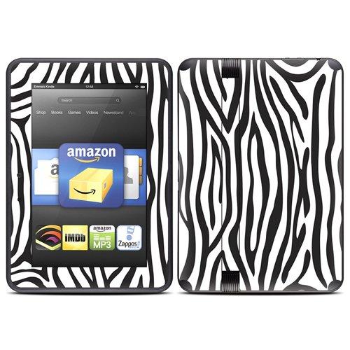 DecalGirl スキンシール Kindle Fire HD(2012年モデル)専用スキン - Zebra