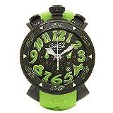 (ガガミラノ) GAGA MILANO ガガミラノ 時計 メンズ GAGA MILANO 6054.2 MANUALE CHRONO マヌアーレクロノ48MM クオーツ 腕時計 ウォッチ グリーン/ブラック [並行輸入品]