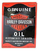 エンボスメタルサイン HARLEY DAVIDSON OIL CAN 【サインボード】