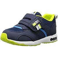 [キャロット] 運動靴 通学履き 靴 4大機能 マジック 幅広 3E キッズ CR C2146