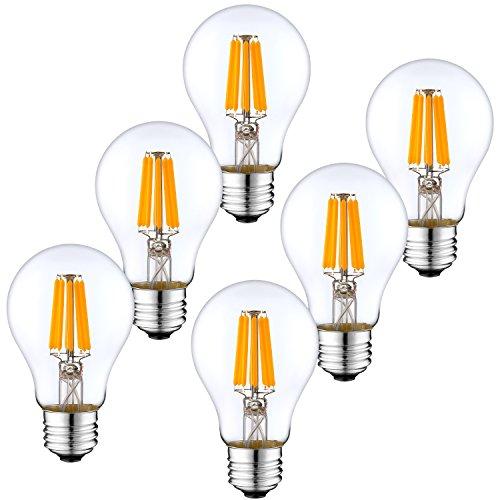 LED電球 E26口金 LEDフィラメント電球 60W形相当...