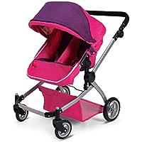 [ドールストローラーズプロ]Doll Strollers Pro Deluxe Twin Doll Pram/Stroller Pink 3265152 [並行輸入品]