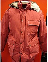 【日本製】 ザンター zanter ダウンパーカージャケット レッド 【M・L・LL】【大きいサイズ】【ダウンジャケット】【メンズファッション】