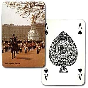 ワジントン・トランプ 「イギリスの風景」 P0089:バッキンガム宮殿