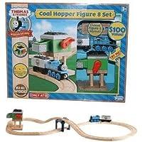 Thomas & Friends Wooden Railway Sodor Coal Hopper Figure 8 Set by Thomas & Friends [並行輸入品]