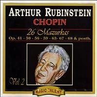 Chopin;25 Mazurkas Vol.2