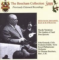 Beecham Brahms Bax & Strauss