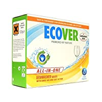 Ecover - All-In-One Dishwasher Tablets - 500g (Case of 7)