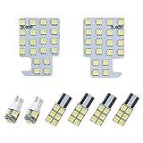 2LOOP(ツーループ) 3チップSMD8点 ウェイク ピクシスメガ 後期 LA700S/A LA710S/A系 LEDルームランプ -純白光