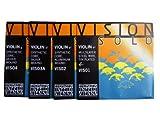 バイオリン弦 Thomastik Vision/ヴィジョン SOLO VIS01+02+03A+04 4/4セット ヴィジョン ソロ E/A/D/G弦セット