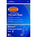 18 Hoover Windtunnel UprightタイプY真空バッグby EnviroCare ( micro-filtration ) 36 Bags ホワイト 856-9
