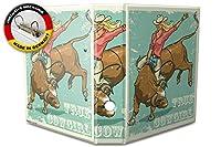 バインダー 2 Ring Binder Lever Arch Folder A4 printed Real Cowgirl