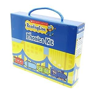 Scholastic Reading Line Phonics Briefcase (21 Books + CD) リーディングライン・フォニックスブリーフケース (21冊・CD付き)