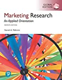 Cover of Marketing Research: An Applied Orientation, Global Edition