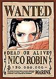 208ピース ジグソーパズル ワンピース 手配書『ニコ・ロビン』(18.2x25.7cm)