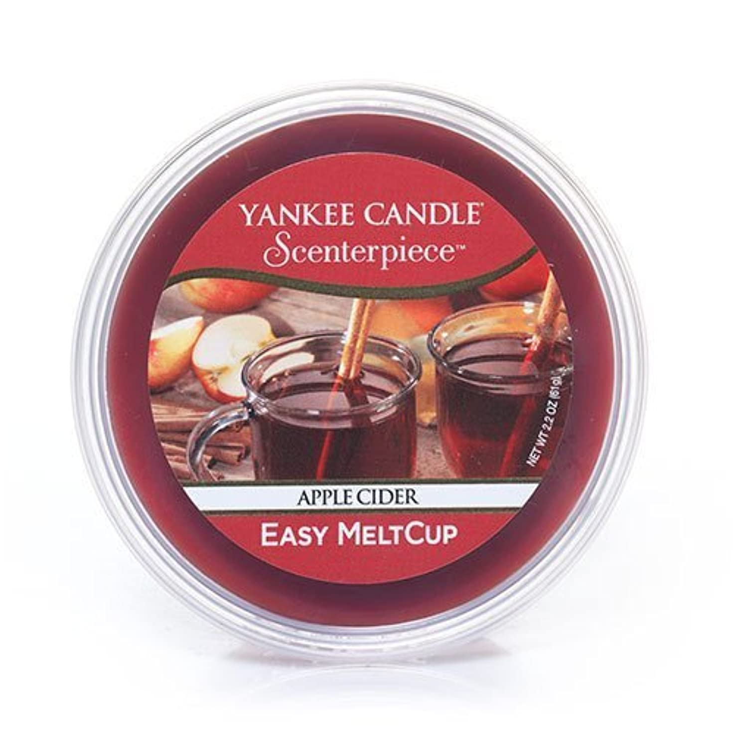 フレットヤギホステルYankee Candle Apple Cider, Food & Spice香り Scenterpiece Easy MeltCups 1316920
