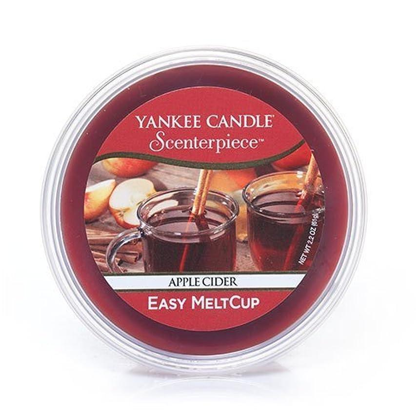 マーガレットミッチェルペレットうれしいYankee Candle Apple Cider, Food & Spice香り Scenterpiece Easy MeltCups 1316920