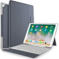 IVSO Samsung Galaxy Tab s410.5ケースwithキーボード–一体型ワイヤレスキーボードスタンドケース/カバーfor Samsung Galaxy Tab s4sm-t830Wi - Fi & sm-t8354G LTE 10.5-inch 2018リリースタブレット
