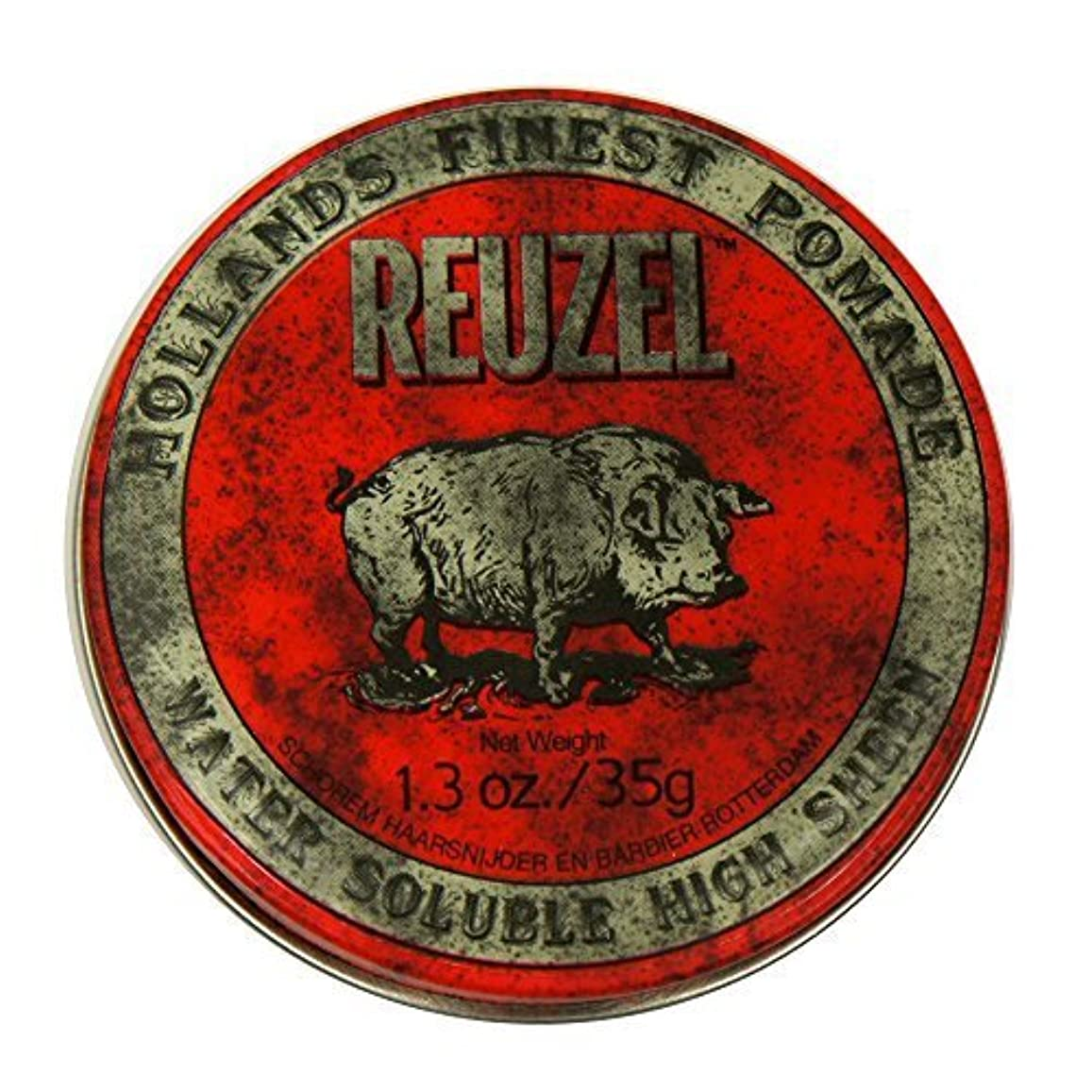 のために彫るホイストReuzel Red Hair Pomade Piglet 1.3oz [並行輸入品]