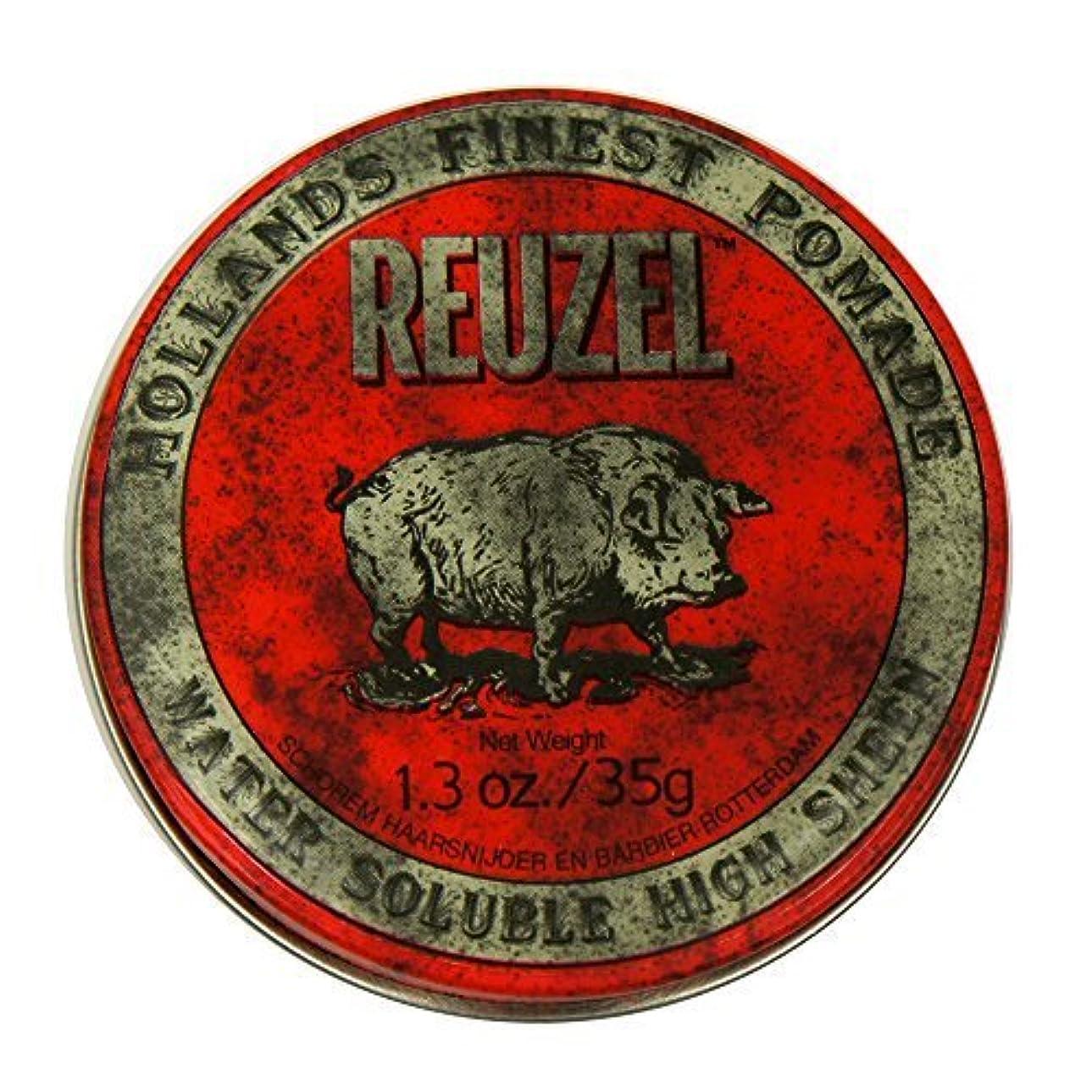 隣接頭蓋骨ペイントReuzel Red Hair Pomade Piglet 1.3oz [並行輸入品]