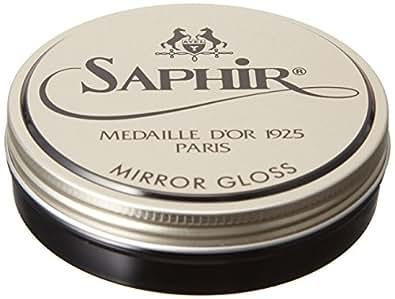 [サフィールノワール] ミラーグロス ハイシャイン シューポリッシュ 鏡面磨き専用 靴磨き 光沢 9551013017 BK ブラック サイズ無し