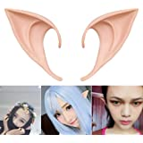 COOLJOY 1 Pair Cosplay Fairy Pixie Elf Ears Accessories Halloween Party Anime Party Costume (Natural Color)