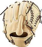ゼット(ZETT) 軟式野球 グラブ(グローブ) プロステイタス ピッチャー用 右投げ用 パステルブラウン×ブラウン(3237) サイズ:5 BRGB30021