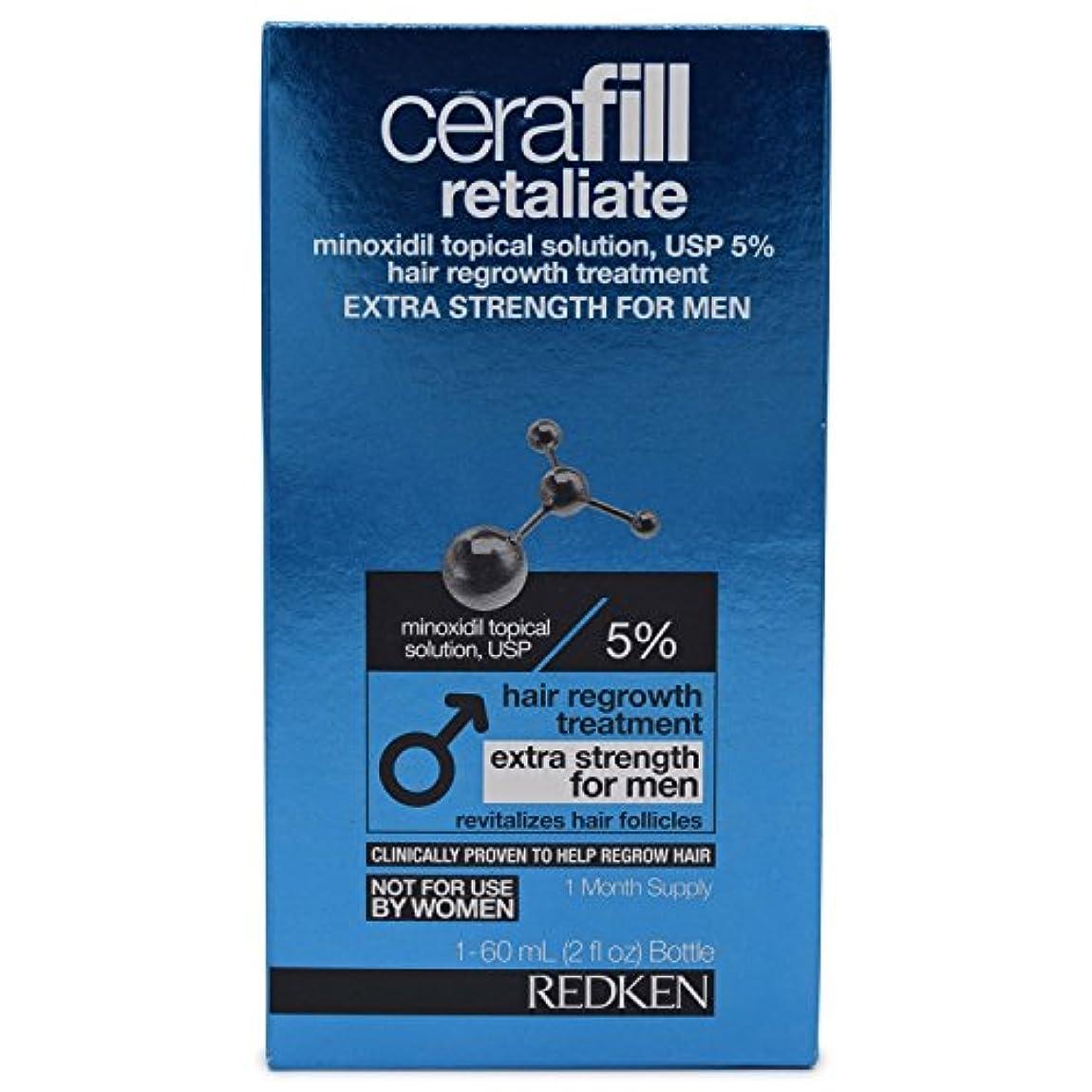 レルム村ディスクCerafill Retaliate 5% Hair Regrowth Treatment