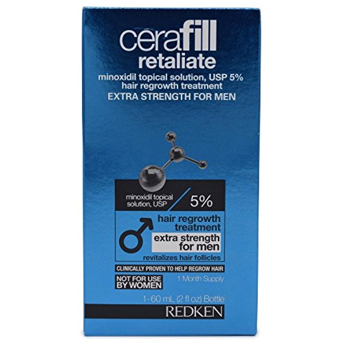 サーキットに行く禁輸侵入するCerafill Retaliate 5% Hair Regrowth Treatment