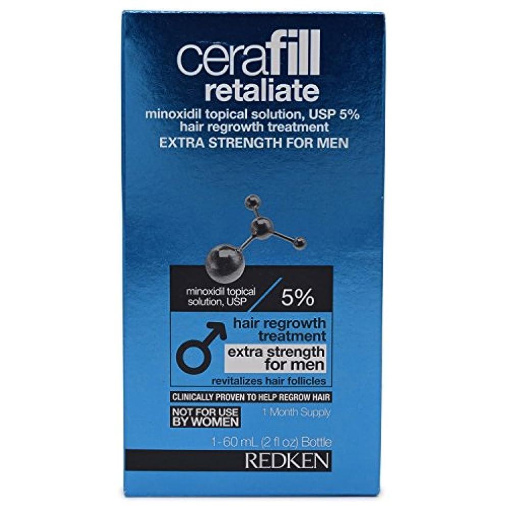 砲兵侵略青Cerafill Retaliate 5% Hair Regrowth Treatment