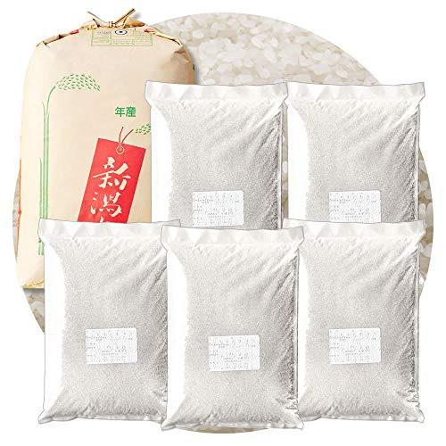 新潟県産 キヌヒカリ 白米 22.5kg (4.5kg×5袋) 令和元年産