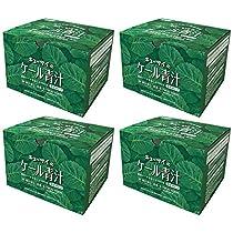 キューサイ青汁30包(粉末タイプ)4箱まとめ買い/国産ケール100% (7g×30包)